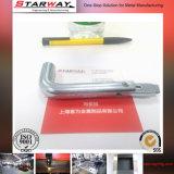 China-kundenspezifische Blech-Teil-Herstellung, die das Aufbereiten bildet