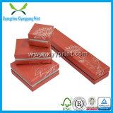 Kundenspezifisches Luxuxschmucksache-Geschenk-Kasten-Papppapier-Schmucksache-Kasten-Verpacken
