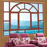 Feelingtop Китай Window Supplier с Excellent Soundproof Aluminum Wood Window