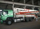 24m, 37m, 39m, 42m, 45m, 48m, 52m Caminhão-Montou a bomba concreta