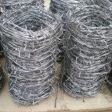 とげがある鉄の金網