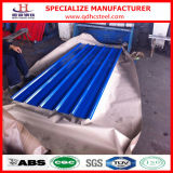Strato ondulato preverniciato del tetto dell'acciaio PPGI