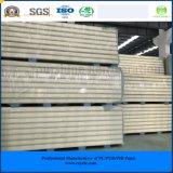 ISO, SGS одобрил панель сандвича Pur ~ 50mm 250mm выбитую алюминиевую для замораживателя холодной комнаты холодной комнаты