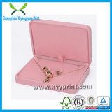 Caixa de embalagem de jóias de luxo promocional feita sob encomenda com logotipo