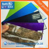 Feuille rigide de laminage de PVC de couleur d'Ocan pour l'enveloppe de tambour