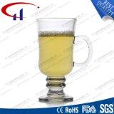 taza de cristal del vino del nuevo diseño 230ml con la mano (CHM8111)
