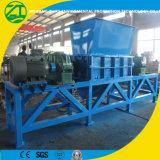 Déchiqueteuse multi-fonctions à double arbre pour plastique / mousse / bois / pneu / déchets alimentaires / déchets municipaux / métal