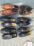 Heiße Verkaufs-Form-reizvolle Frauen-Absatz-Dame Women Used Shoes (FCD-005)