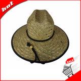 Chapéu de vaqueiro relativo à promoção da palha do girassol da palha do Cattail