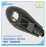 60W Bridgelux IP67 LED Straßenlaternemit Meanwell Fahrer