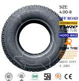 Neumático 4.00-8 de la motocicleta del neumático del policía motorizado del neumático tres del triciclo