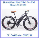 da praia gorda barata da mulher do pneu de 250W 36V bicicleta elétrica/bicicleta elétrica Fatbike da neve
