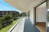 Врезанный Railing Tempered стекла Frameless с каналом u низкопробным для балкона