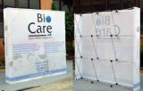 Schioccare in su la fiera commerciale Display con Custom Graphics e Spotlights