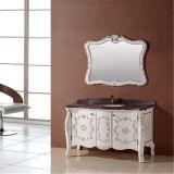 Étage neuf restant la vanité de salle de bains en bois solide