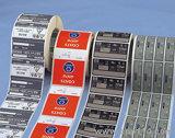 Machines d'impression auto-adhésives de Flexo d'étiquette de couleur de Rtry-480e cinq