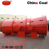Mineração Disrotatory Axial Exhaust Blower com Sillencer