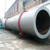 Secador de cilindro giratório para o pó/argila minerais