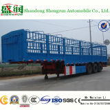 De Fabriek van China 60 van de tri-As Ton Aanhangwagen van de Lading stortgoed van de Semi