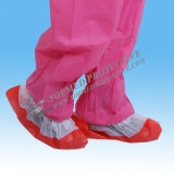 Shoe non-tissé Cover avec Anti-Skid, Disposable Shoe Cover