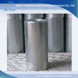 Aluminium om het Blad van het Gat voor Buis wordt geperforeerd die