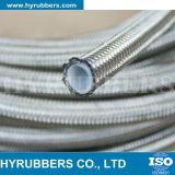 Bestand Roestvrij staal Gevlechte R14 Hydraulische Slang op hoge temperatuur, TeflonSlang PTFE
