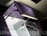 Handelsküche-Möbel-Bäckerei angestrichene Küche-Schränke im Ausstellungsraum