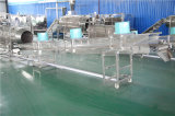 La pallina del rifornimento della fabbrica dell'acciaio inossidabile scheggia il macchinario