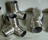 Menuisier d'éclat d'ajustage de précision de balustrade d'acier inoxydable