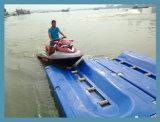 プラスチック浮遊ポンツーンのドックによって使用されるジェット機のスキー浮遊物