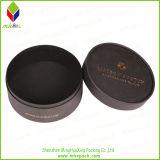 昇進の黒いボール紙の円形の石鹸ボックス