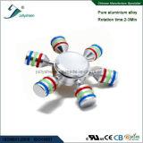Seis braços do girador da inquietação do girador do dedo do girador da mão da liga complacente para o Ce, RoHS, En71