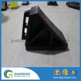 Schwarze Farben-Gummirad-Keil