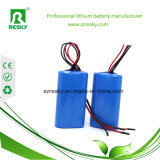 bloco da bateria de lítio 3s1p 18650 11.1V para a tocha da lanterna elétrica do diodo emissor de luz