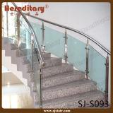 Edelstahl-Glashandlauf für Treppenhaus-Glasgeländer (SJ-S093)