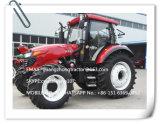 Трактор Luzhong аграрный, котор катят, трактор фермы 1204