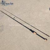 Pesca de giro Rod de pesca de los trastos del carbón nano al por mayor del OEM