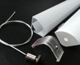 Пустой алюминиевый профиль для света штанги прокладки СИД