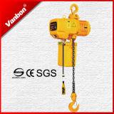 2ton élévateur à chaînes électrique, élévateur à chaînes électrique à crochet de suspension de 2 tonnes