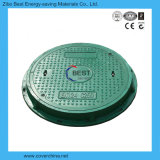 700mm En124 C250 둥근 SMC FRP 맨홀 뚜껑