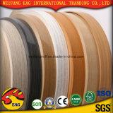 良質の高い光沢のある無地の木製の穀物カラーPVC端バンディング