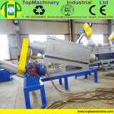 Máquina de lavar quente da película do HDPE da venda para recicl o Raffia dos PP do PE com esmagamento molhado