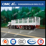 Alto Duty 13000m m 3axle Cargo Doble-Stake Semi Trailer