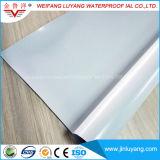 Exposé couvrant la membrane imperméable à l'eau de PVC pour le toit plat