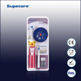 Cepillo de dientes eléctrico con pilas de los niños del FDA