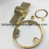 CNC maschinell bearbeitete Teile vom Kupfer mit Cer, FCC, RoHS von der ISO-Fabrik