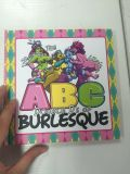 Mini impressão do livro de crianças, Hardcover, canto redondo, impressão lustrosa