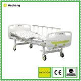 HK-N209 2機能手動病院用ベッド(医療機器、病院の家具)