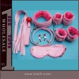 Het volwassen Stuk speelgoed van het Geslacht van het Leer van de Vibrator van het Product van het Speelgoed Sexy (TSA1112)