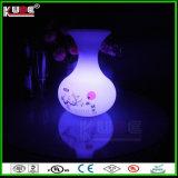 Colorear el florero colgante decorativo controlable del RGB de la lámpara con la iluminación LED